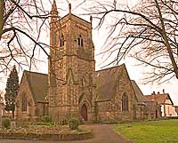 St Paul's Church  in Derby UK