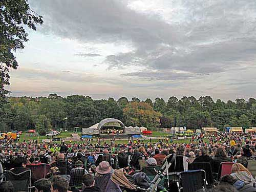 Concert at Darley Park
