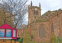 St Peter's church  in Derby UK