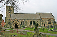 church of All Saints at Mckleover  in Derby UK