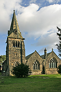 Church of St Giles at Normanton  in Derby UK