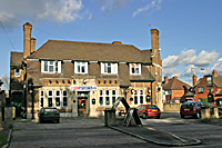 Greyhound pub  at Normanton  in Derby UK