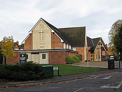 display for Littleover methodist church